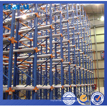 High quality warehouse drive in rack/drive in racking for warehouse
