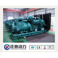 800kw / 1000kVA Cummins Power Generator with Deep Sea Controller