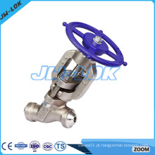 Fabricante da China de válvula de globo SS 316 forjada 1/4 '' a 4 '' pn16