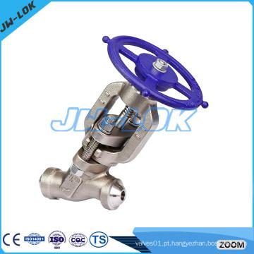 Válvula de globo de pistão de aço forjado, válvula de válvula de verificação