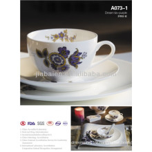 A073 Light weight ceramic ware wedding dinner set