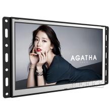 USB media player 7 inch monitor frameless lcd display