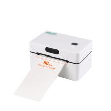 Impressora de etiquetas térmicas USB 80mm com código de barras compatível com Zebra