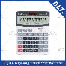 Calculadora de escritorio de 12 dígitos para el hogar y la oficina (BT-2501)