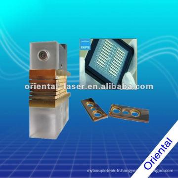 Module de diode laser de refroidissement par micro-canaux