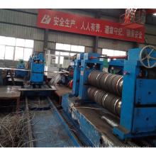 Linha de corte de bobina de aço com cabeças duplas pesadas
