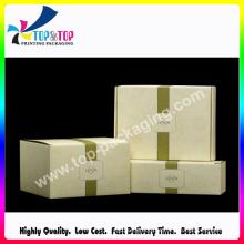 Popular vendendo logotipo personalizado impressão grossista caixa de sabão de papel