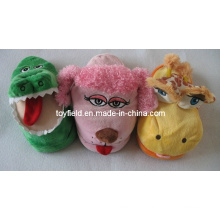 Cartoon Slippers Plush Toy Stuffed Slippers Shoes (TF9735)