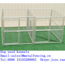 Zoo pet cage kennels large dog kennels metal panels dog kennels dog used kennels