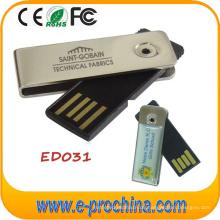 Metall UDP Swivel Stick Form USB Flash Drive (EM020)