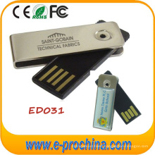 Metal UDP Swivel Stick Shape USB Flash Drive (EM020)