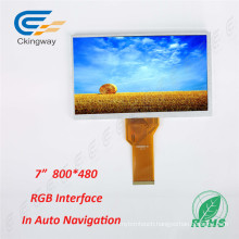 7 Inch Resolution 800*480 TFT Display