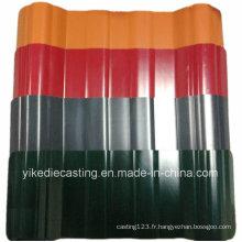 Toiture en plastique ondulée de tuile de PVC de couleur de vie de 25years