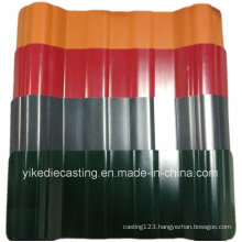 25years Life Color Coated Corrugated PVC Plastic Tile Roofing