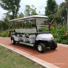 Venta directa de fábrica de certificado CE Venta de carrito de golf eléctrico 8 asientos