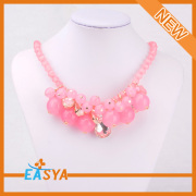 Latest Fashion Short Chain Round Bead Necklace