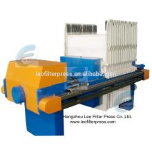 Machine de presse de filtre d'argile de presse de filtre de Leo