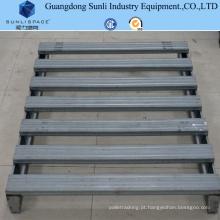 Pálete de aço galvanizado do tamanho padrão do fornecedor do GV