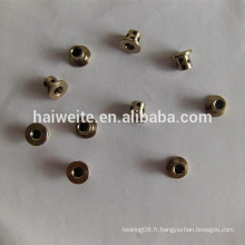 JDB1020 Roulement à huile auto-lubrifiante solide en graphite incrusté, douille en cuivre en graphite 14 * 10 * 20, douille à huile