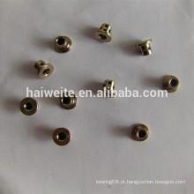 JDB1020 Rolamento de óleo lubrificante sólido autografado embutido de grafite, manga de cobre de grafite 14 * 10 * 20, bucha de rolamento de óleo