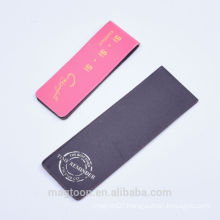 Custom Printing Folding Coated Paper Magnetic Bookmark With Free Logo