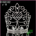2015 New Cheap big pageant fashion tiara crown
