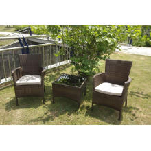 Synthetic Rattan Outdoor Coffee Tea Table Furniture