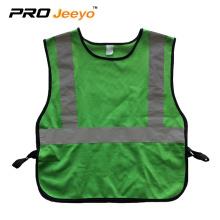 Children hi vis security reflection vest