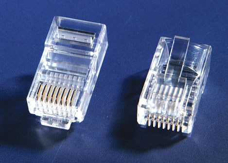 RJ45 Male Cat5 connector