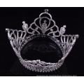 Großhandel Zhanggong Kristall Baby Haar Zubehör Jungen volle Runde Kronen