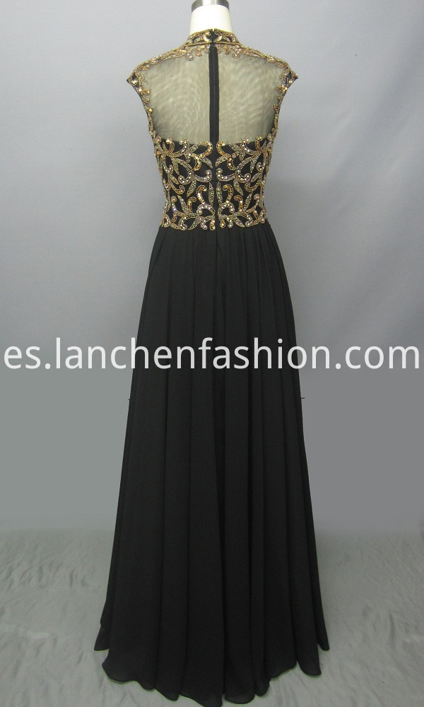 Beaded Prom Evening Dress