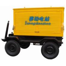 Centrale mobile de remorque de 100KW