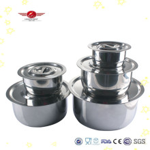 Stainless Steel Flavor Cooking Pot Set