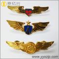 Custom air flight metal material lapel pins