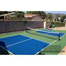Terrain de tennis Sol sportif en acrylique
