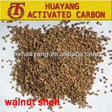 HY-52B 36 mesh walnut shell abrasive for precision polishing