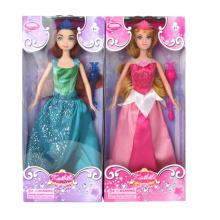 Linda boneca de brinquedo favor plástico menina para crianças (10226295)