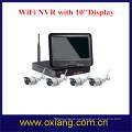 4 Channel IP Camera NVR WiFi Kit WiFi Camera Full HD Display Screen NVR
