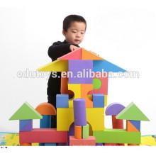 48 piezas de alta densidad de los niños de gran edificio eva bloques de espuma