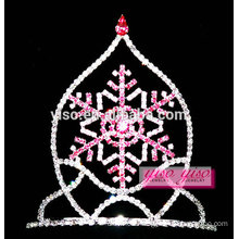 hair jewelry headband hollow snowflake tiara