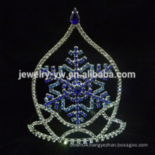 Wholesale Red&blue Snow Crown and Tiara for girls