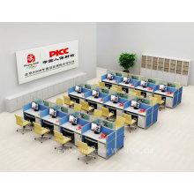 Muebles de oficina Estación de trabajo del centro de llamadas para el escritorio de trabajo del personal (HF-YZV620)