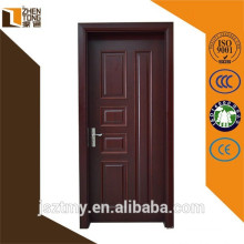 Solid wood Chinese fir/cherry/oak/teak/walnut safety wooden door design