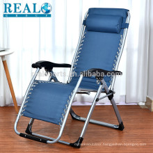 Wholesale Modern Outdoor Sling Chair Beach Lounge Chair With Headrest