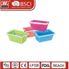 plastic handy basket