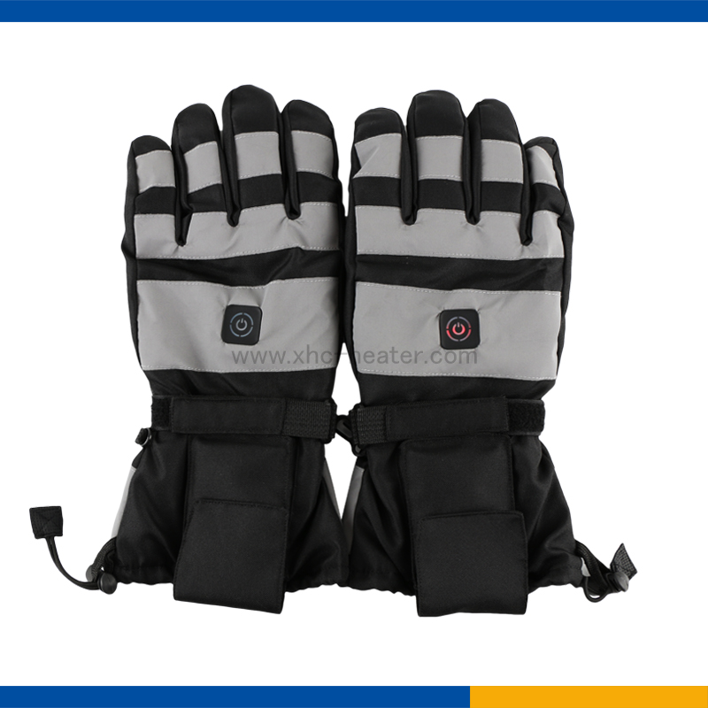 Heated Motorcycle Gloves with Temperature Control