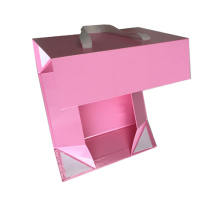 Flat Pack Gift Boxes with Ribbon Handle