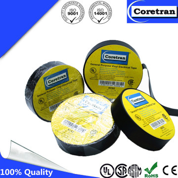 Temperature Rating Vinyl Tape with Good Price for Cable Connections