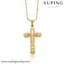 32017-Xuping Bijoux Jesus Faith Corss Pendant