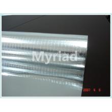 Folha de alumínio dobro do lado scrim 2-way, material reflexivo e de prata da telhadura Folha de alumínio face Lamination
